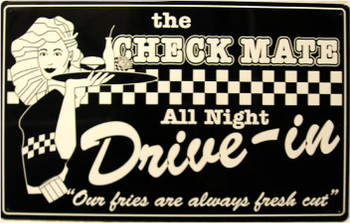 The Check Mate Drive-In Restaurant