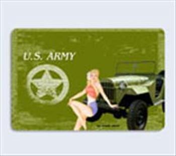 U.S. Army Girl Metal Sign