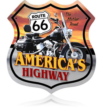 Route 66 Motorcycle (XLarge)