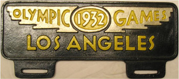 Olympic Games 1932 Los Angeles