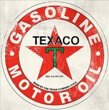 "Texaco ( 12"" Square ) Metal Sign"