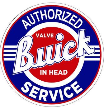 "Buick-Authorized Service 18"""