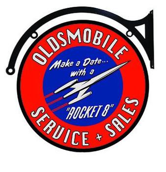 """Oldsmobile Service Sales Hanger 18"""""""