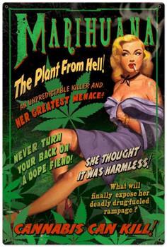 Marijuana Pinup (XLarge)