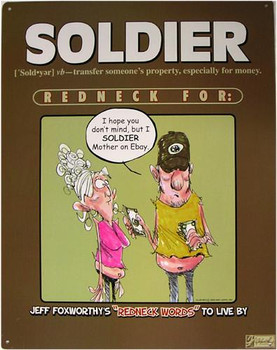 Soldier Redneck Definition