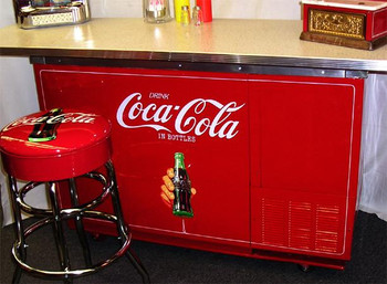 Three Seater Coca-Cola Bar