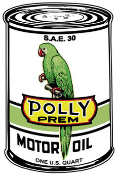 """Polly Premium Oil Can 34"""""""