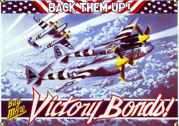 Victory Bonds-P38 Lightning