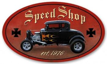 Speed Shop (oval)