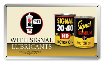 Signal Motor Oil Can