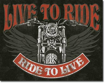 Live to Ride Bike