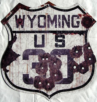 US Route Wyoming 30