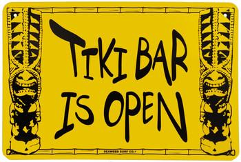 Tiki Bar is Open