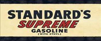 Standard's Supreme Gasoline