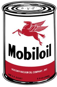 Mobiloil Oil Can (medium)