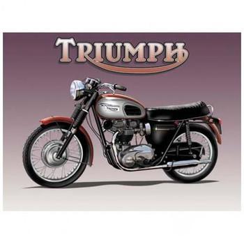 Triumph Bonneville Metal Sign