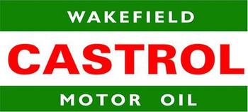 Wakefield Castrol Motor Oil Metal Sign