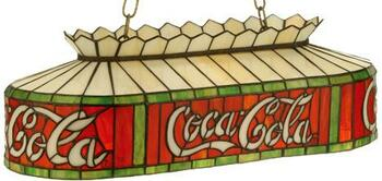 "24""L Coca-Cola Oblong Pendant"