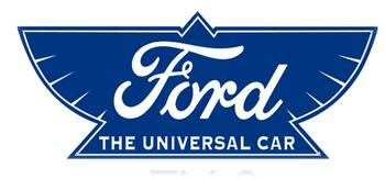 """Ford-The Universal Car 18"""" Plasma Cut Metal Sign Double Sided"""