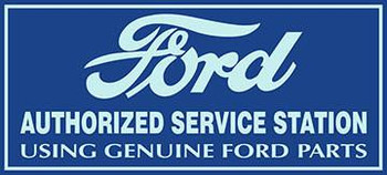 "Ford Authorized Service 18""by 6"""