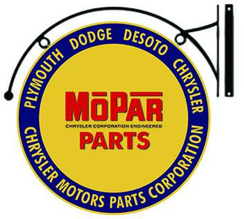 "MOPAR Parts Hanging 22"""