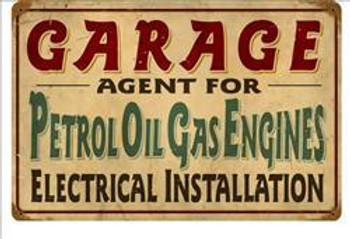 Garage-Petrol Oil Gas