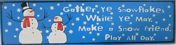Gather Ye Snowflakes