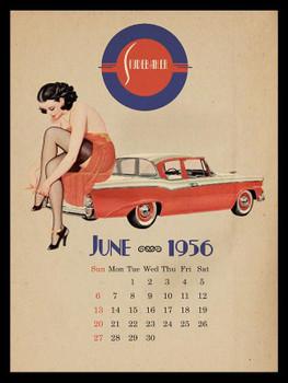 Studebaker-June 1956 Metal Sign