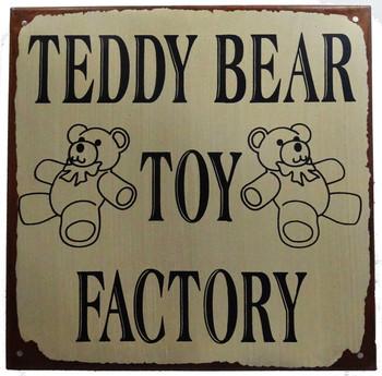 Teddy Bear Toy Factory