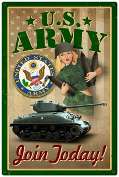 US Army Pinup (XLarge)