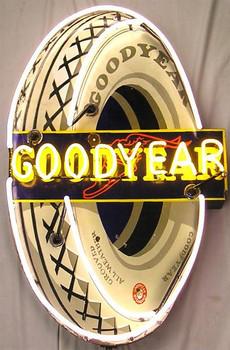 Good Year Tire Adverising Neon