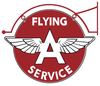 Flying A Service (double sided with Hanger)