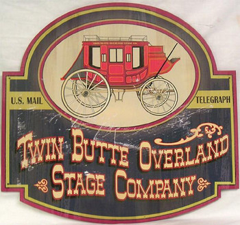Twin Butte Overland Stage Co.