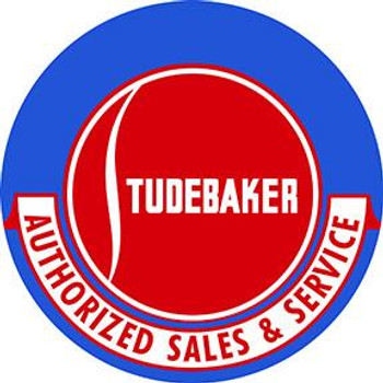 "Studebaker Sales & Service 18"" disc"