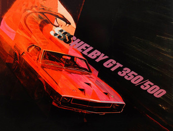 Shelby GT 350/500 Metal Sign
