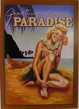 Greetings from - Paradise