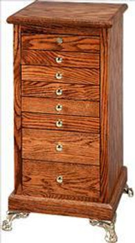 Slot Eight Drawer Stand