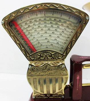 National Store Speciality 2 lb Candy Scale Circa 1910