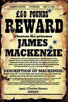 Reward James Mackenzie