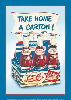 Take Home A Carton ! Pepsi-Cola