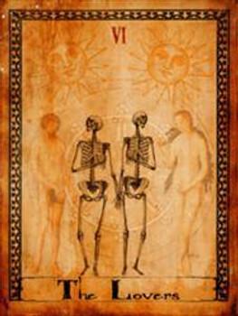 The Lovers-Tarot Metal Sign