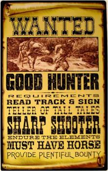 Wanted Good Hunter