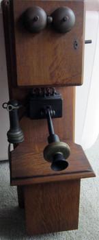 Stromberg Carlson Double Island Wall Telephone