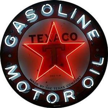 Texaco Advertising Neon