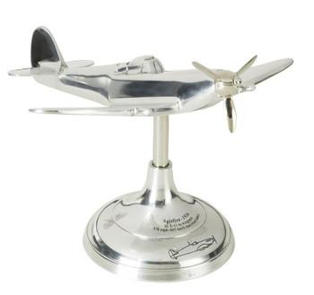 Spitfire Trench Art Airplane Desk Model