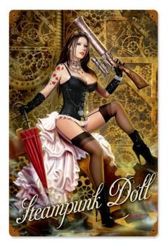 Steampunk Doll Vintage