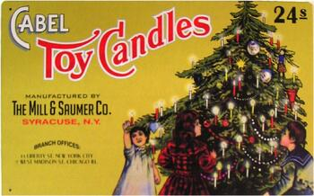 Cabel Toy Candles