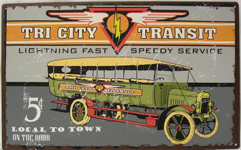 Tri City Transt 5c Local To Town