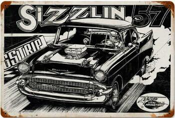 Sizzlin 57 Vintage Metal Sign