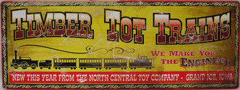 Timber Tot Trains